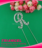 Top Quality Crystal Acrylic Cake Topper For Birthday Party