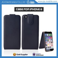 Mobile Phone Flip Cover Up and Down Vertical Flip Leather Phone Case for iPhone 6