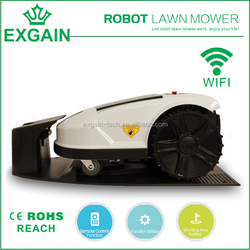 Rechargeable Mower with 90-240V input voltage