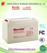 High power 12v 90ah rechargeable sealed lead acid GEL storage solar battery