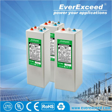 EverExceed 2V 1000ah AGM OPzV solar deep cycle battery