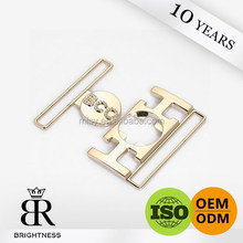 Elegant popular flat auto lock belt buckle for women Brightness G1-80001