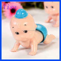 Boy & Girl Nice Windup Crawling Crawl Toy Doll Gift for Child Baby Kid