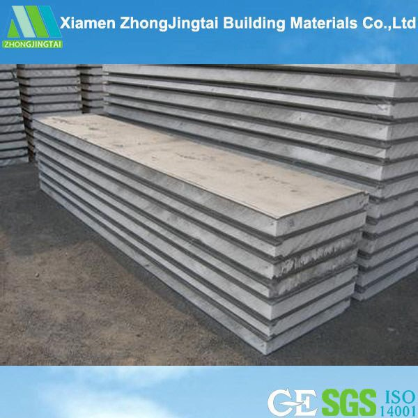 Corrugated panels rock wool insulated metal roof panel for Structural insulated panels prices