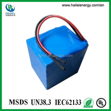 lithium iron phosphate lifepo4 9.6v rechargeable battery pack