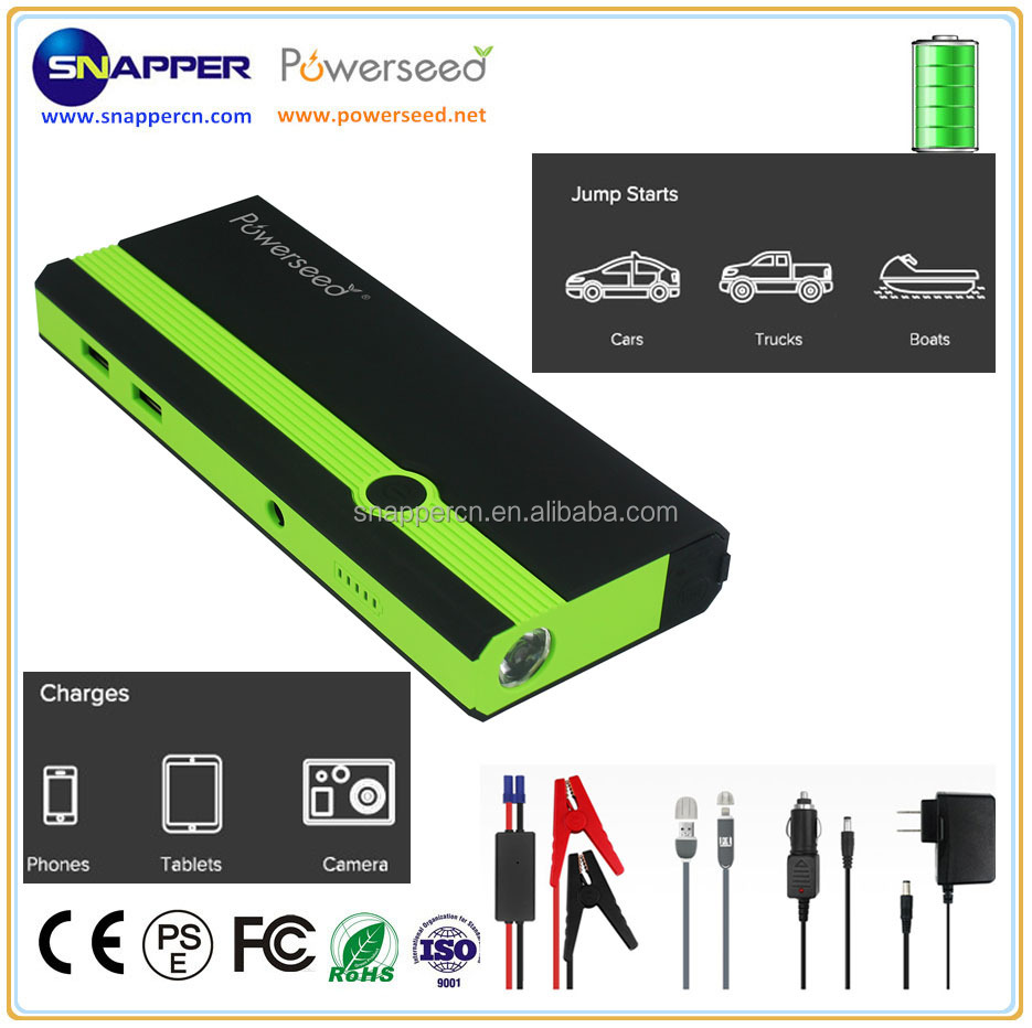 Best portable battery jump starter 8000mah 12v pocket battery jumper