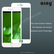 Hot selling,tempered glass for cell,for iphone 6 plus tempered glass,0.2mm full cover for iphone 6/6 PLUS