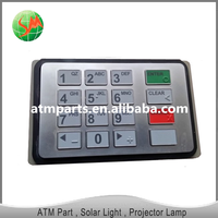ATM part Nautilus Hyosung ATM machine parts encrypted Pin Pad 7128080010 keyboard for Hyosung 5600