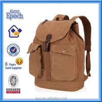 Cheap latest designs jeans material drawstring backpack