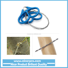 2015 Outdoor Plastic Ring Steel Wire Saw Scroll Emergency for Hunting Camping Hiking Survival Tool