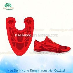 2 color the special shape plain embroidered mesh fabric