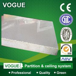 Vogue green fireproof insulation board decoration wall panel home depot