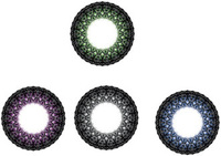 sparkle circle green colored geo circl authentic good quality lenses