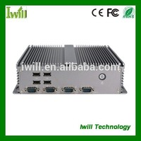 Iwill industrial PC IBOX-207 thin client dual core fanless mini pc 12V