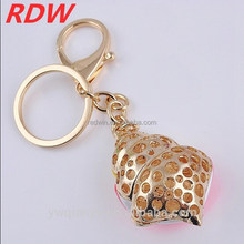 2015 RDW fashion keyring conch key chain laser engravable chain 3d key ring keychain promotion gift