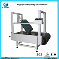 Trolley bag wheels anti abrasion bump test equipment/Cart wheel wear loss tester