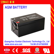 12v 250ah AGM Deep Cycle Battery
