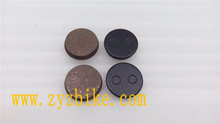 Cycling road bike brake pads for YUS round discs/Professional disc brake pad factory
