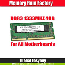 Best price 1333mhz pc3-10600 ram ddr3 4gb free shipping