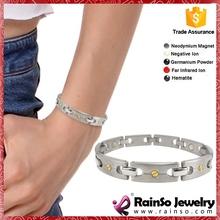 Executive Brushed Symmetry 925 silver jewelry bracelet