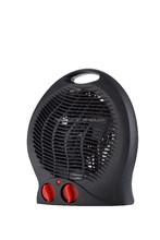 Black Electric fan heater LQ-801
