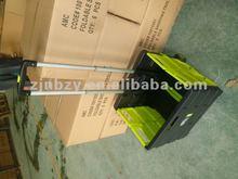 2012 plastic foldable shopping trolley