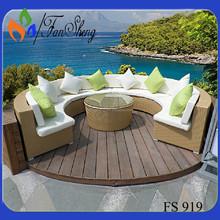 divano di lusso uso specifico divano da giardino per mobili da giardino patio 919 fs