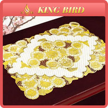 Chinese cheap golden foil placemat