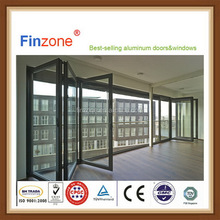 Customized hotsell glass inserts aluminum door