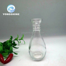 70ml bowling shape aroma reed glass diffuser bottle with cork lid wholesales
