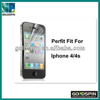 Clear Screen Protector Sticker Screen For Apple Iphone 4 Anti-fingerprint Screen Protector