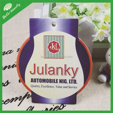 Promotional make hanging paper car freshener air freshener paper