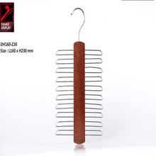 2015 highly quality fancy bulk padded Wooden Clothes Hanger