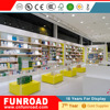 Specially customized products glass pharmacy display rack