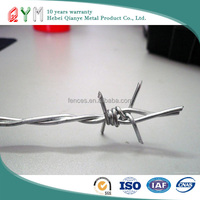 High quality galvanized weight barbed wire