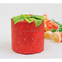 Strawberry design printed toilet tissue in roll/Giftmate/Paper tissue