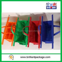Portable Foldable Supermarket Trolley Shopping Bag/Supermarket Shopping Cart Bag