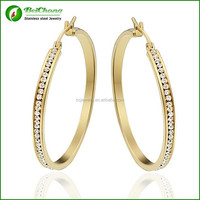 lastest design gold fashion earring