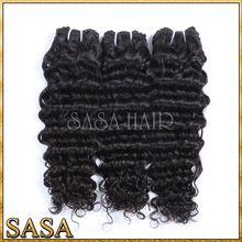 Factory price wholesale virgin eurasian deep wave hair extensions,unprocessed virgin russian hair