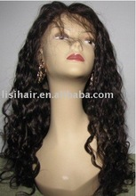 Pretty Peruvian virgin hair Full lace wigs