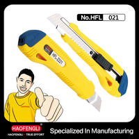 HFL-Z221 18MM ABS Thick Handle Nice Color Rough Surface Utility Cutting Sharper