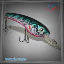 pesca jigging atraer a la pesca con el gancho de la muestra libre