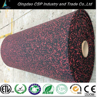 """Rubber floor suppliers shock absorbing floor mats,""""crossfit"""" rubber gym floorings"""