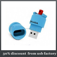 class 8GB pvc usb flash stick