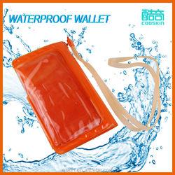 Anti-shock mobile phone waterproof bag