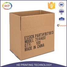 Wholesale Custom Printed Cardboard Corrugated Carton Paper Shipping Box