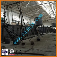 JNC Crude Oil Distillation Equipment/Synthetic Motor Oil Distillation Machine To Diesel Fuel/Oil Purification Factory