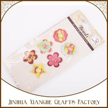 Adorable Epoxy Brad and Paper Chipboard Paper Die Cut for Scrapbook Embellishment