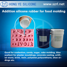 FDA food product mold with silicone rubber / food grade liquid silicone