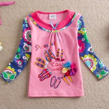 New style fashion T-shirt for sweet Girls in 2015/ L330 pink white
